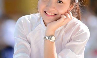 Mê mẩn ngắm nữ sinh mặt mộc xinh đẹp của trường Phan Đình Phùng