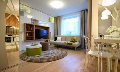 Khám phá cách mở rộng không gian cho căn hộ 34 m2