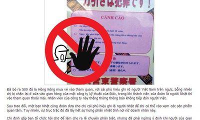 Nghi vấn bài báo bịa đặt, bôi xấu danh dự người Việt