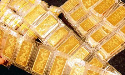 Giá vàng trong nước tăng mạnh 220.000 đồng/lượng