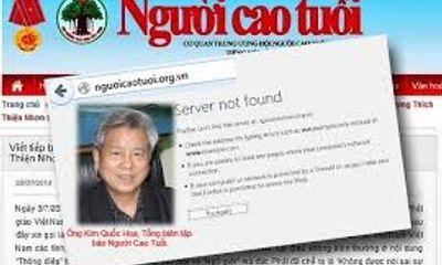 Báo Người cao tuổi bị xử phạt 699,7 triệu đồng