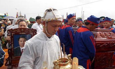 Ông Nguyễn Bá Thanh đã về với lòng đất mẹ