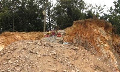Hà Tĩnh: Phát hiện ngôi mộ cổ