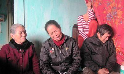 Tết không về với gia đình ngư dân bị mất tích trên tàu Hàn Quốc