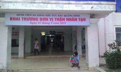 Quảng Bình: Khai trương đơn vị chạy thận đầu tiên ở tuyến huyện