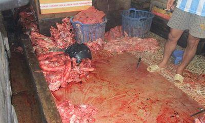 Miền Nam - Tẩy trắng nội tạng trâu bò bằng hóa chất không rõ nguồn gốc