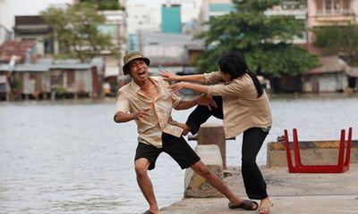 """Phương Thanh gặp ác mộng khi nhảy sông đóng """"Vừa đi vừa khóc"""""""