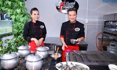 Đàm Vĩnh Hưng vào bếp học nấu ăn