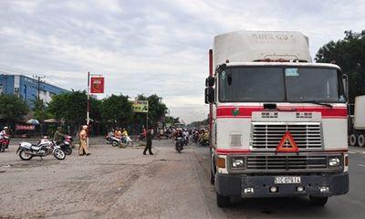 Bình Dương: Xe container cán chết một nữ công nhân