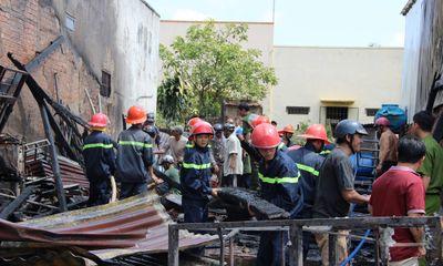 Đăk Lăk: Hỏa hoạn thiêu rụi xưởng cơ khí, thiệt hại 500 triệu