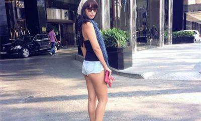 Street style sao Việt tuần qua: Hà Anh diện quần 5cm sexy dạo phố