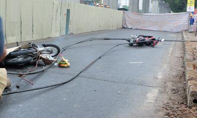 Tai nạn ở đường sắt trên cao: Đình chỉ thi công toàn tuyến