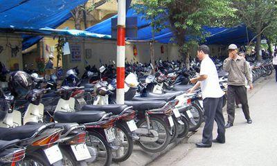 Hà Nội: Phí trông giữ ô tô, xe máy bắt đầu tăng từ tháng 9