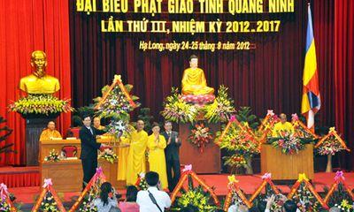 Quảng Ninh kỷ niệm 10 năm thành lập Giáo hội Phật giáo tỉnh