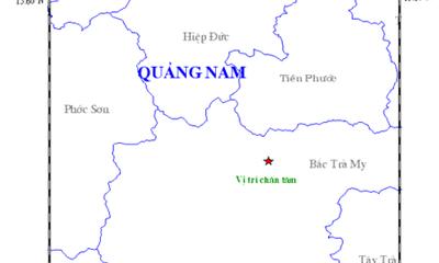 Lại động đất 2,7 độ richter ở thủy điện Sông Tranh 2