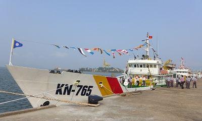 Từ 26/2, lực lượng kiểm ngư được trang bị vũ khí quân dụng