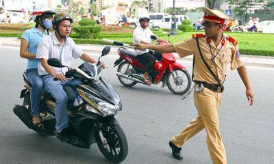 364 cán bộ CSGT không nhận tiền của lái xe vi phạm