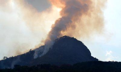 Liên tiếp xảy ra cháy rừng ở Lâm Đồng và TP.HCM