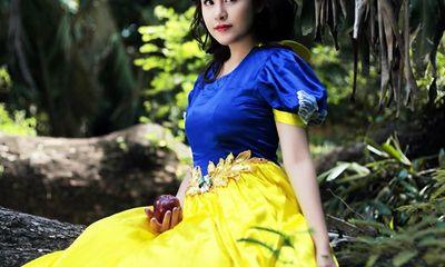 Bà Tưng hóa Bạch Tuyết dịu dàng mùa Halloween