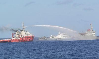 Tàu Trung Quốc liên tục vây ép, gây hấn với tàu Việt Nam
