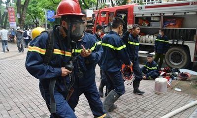 Cháy tầng hầm Ngân hàng nhà nước do chập điện, không có thiệt hại