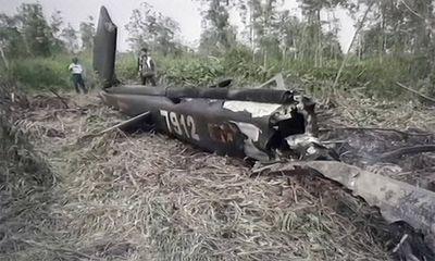 Kết luận nguyên nhân máy bay quân sự rơi ở TP.HCM
