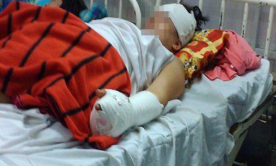 Nửa đêm đột nhập vào nhà chém phụ nữ mang thai trọng thương
