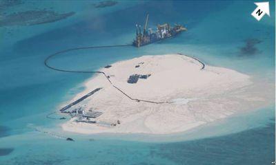 Mỹ, Philippines quan ngại TQ bồi đắp đảo, thay đổi hiện trạng Biển Đông