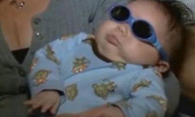 Bé trai mới sinh mắc bệnh lạ không có nhãn cầu