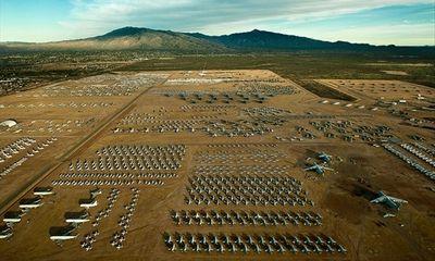 """Khám phá """"nghĩa địa"""" hơn 4.000 máy bay quân sự ở Mỹ"""