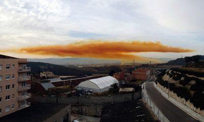 Cảnh tượng kinh hoàng sau vụ nổ nhà máy hóa chất