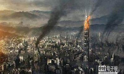 IS tung ảnh thiêu cháy tòa tháp chọc trời Đài Loan