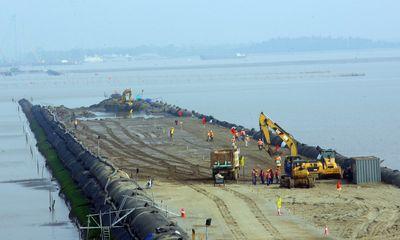 Đẩy nhanh tiến độ xây cầu vượt biển dài nhất Việt Nam