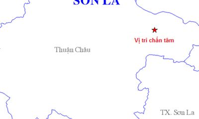 Sơn La: Động đất gần 4 độ Richter ở huyện Thuận An