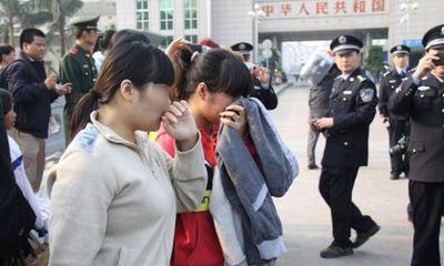 7 phụ nữ Việt bị bắt cóc sang Trung Quốc làm cô dâu trở về nhà an toàn