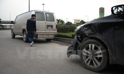 Hà Nội: Xe chở phạm nhân gây tai nạn giao thông