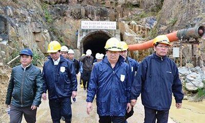 Vụ sập hầm thủy điện Đạ Dâng: