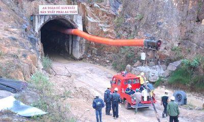 Lập tổ điều tra sự cố sập hầm thủy điện Đạ Dâng