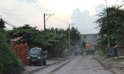 Vụ dân lập rào chặn xe quá tải: Xe đã được lưu thông