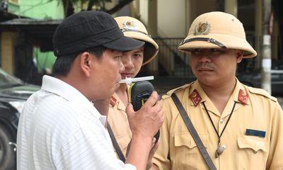 """Hà Nội: CSGT xử phạt gần 700 """"ma men"""" trong 30 ngày"""