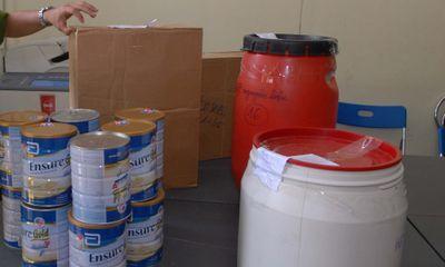 Triệt phá đường dây sản xuất sữa giả cho phụ nữ mang thai và trẻ em
