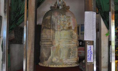 Hưng Yên: Phát hiện chuông cổ hình rồng nặng 200kg