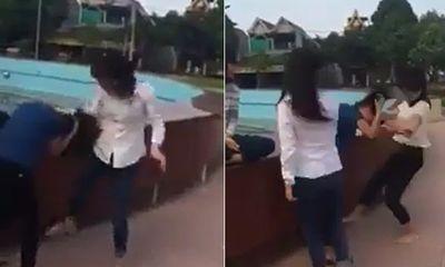 Xôn xao clip nữ sinh Thanh Hoá bị đánh hội đồng