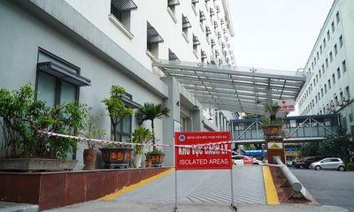Hà Nội: Khoa Cấp cứu Bệnh viện Hữu nghị Việt Xô bị phong tỏa