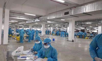 Bắc Giang ra công văn hỏa tốc rà soát, xét nghiệm toàn bộ công nhân công ty Hosiden