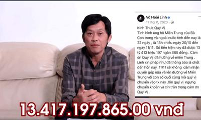 Video: NSƯT Hoài Linh chính thức lên tiếng về số tiền từ thiện hơn 13 tỷ đồng