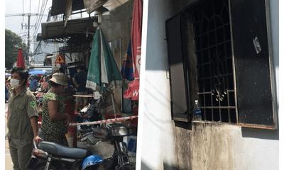 Vụ cháy nhà 2 vợ chồng nguy kịch: Camera ghi cảnh kẻ lạ mặt khóa cửa ngoài rồi tưới xăng đốt
