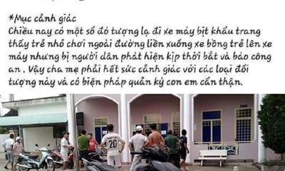 Tin tức thời sự hôm nay 7/6: Bác thông tin bé gái 4 tuổi ở Quảng Nam bị bắt cóc