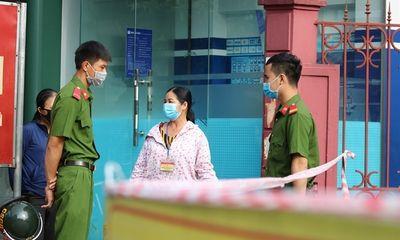 Phát hiện ca dương tính SARS-CoV-2, BV Đa khoa Hà Tĩnh phong tỏa