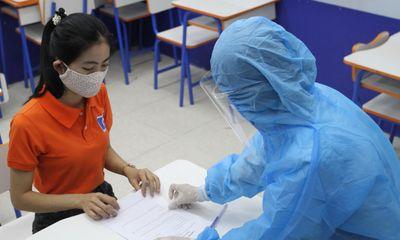 Thi vào lớp 10 THPT ở Hà Nội: Căn cứ để xác định thí sinh thuộc diện F0, F1, F2